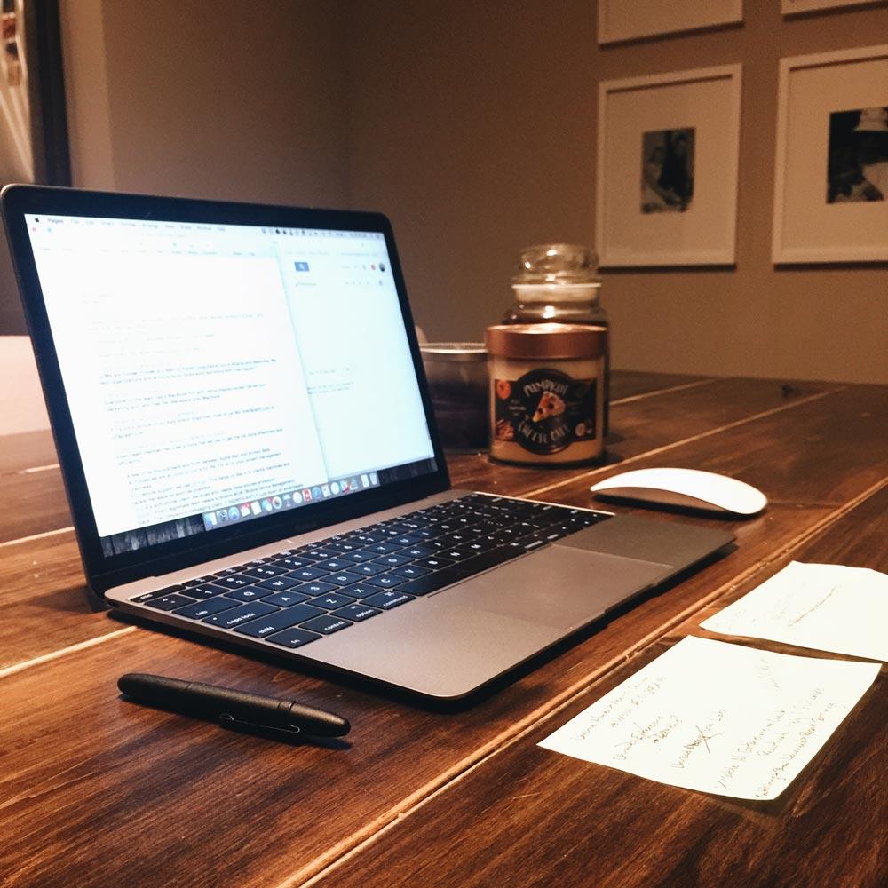 Mac Computer Desk Foojee's Mac And Ios Setups  The Sweet Setup