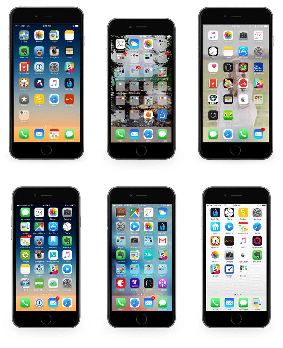 Foojee iPhones