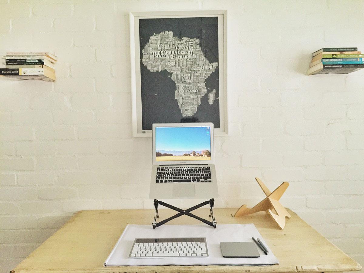 Liam Byrnes' Desk