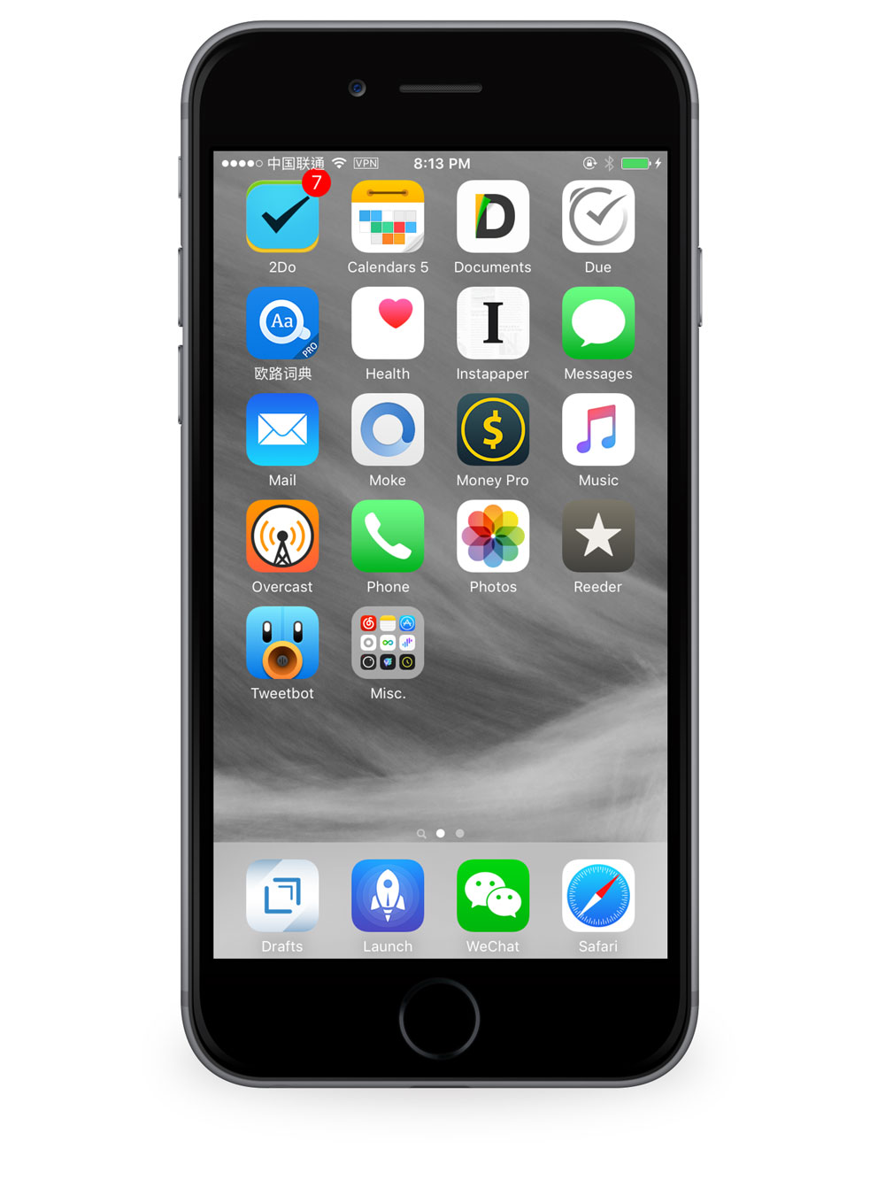 Chenyang Hsu's iPhone