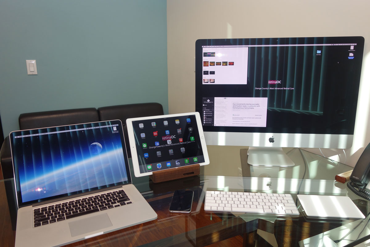 Nadeem Vaidya's Mac and iOS setup