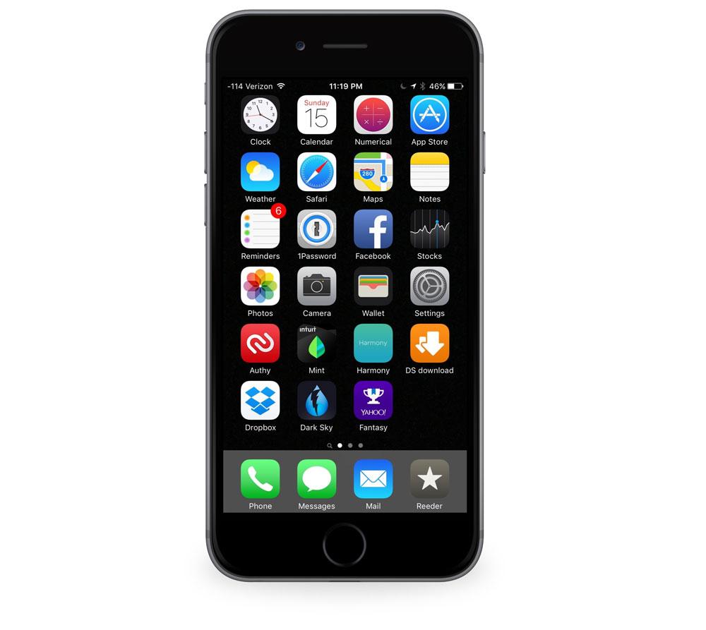 Nadeem Vaidya's iPhone
