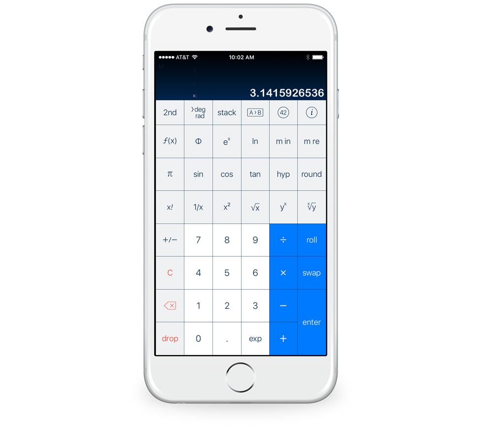 PCalc with Drang layout