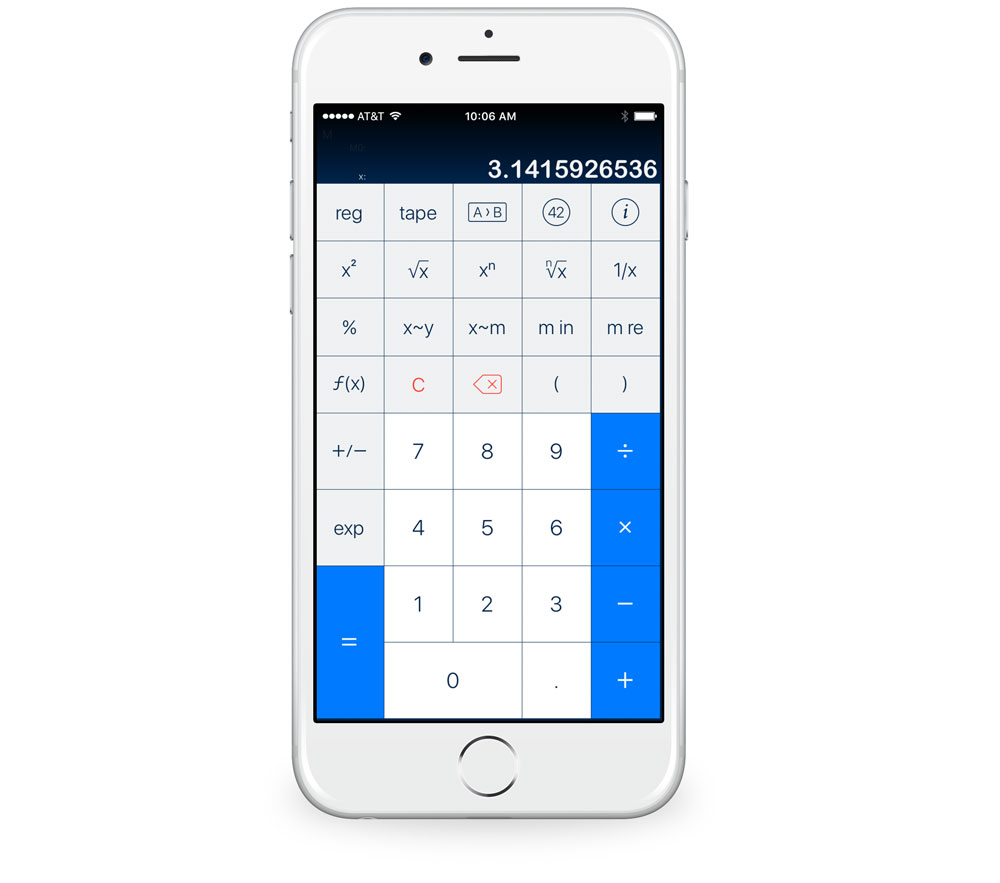 PCalc with Retro layout