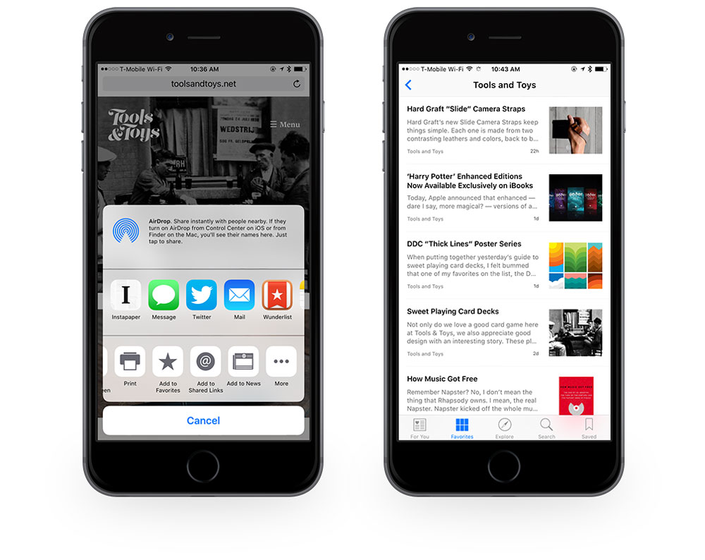 Add site to Apple News manually comp