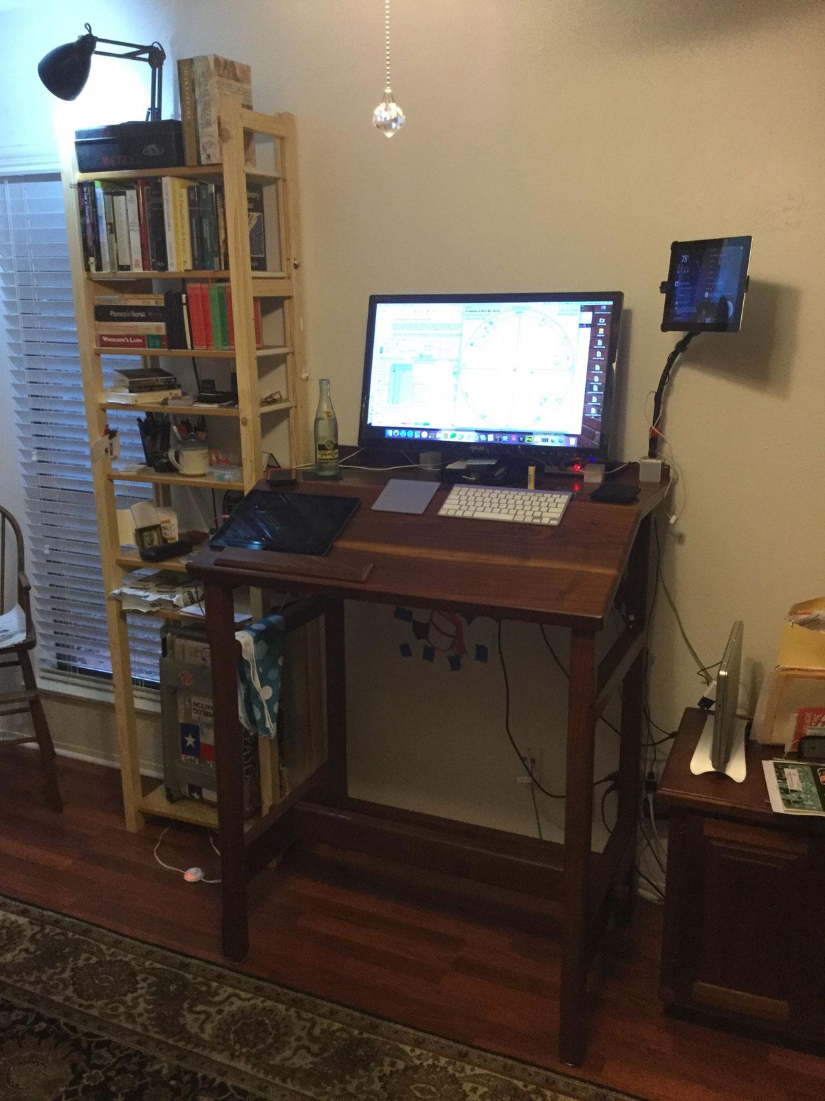 Kramer Wetzel's desk