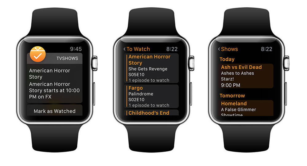 Television Time on Apple Watch