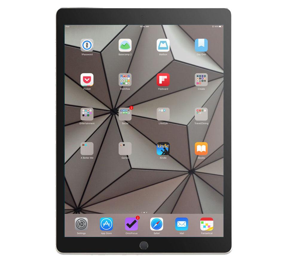 Bret Foster's iPad Pro