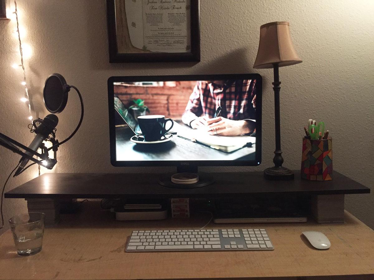 Josh Medeski's Mac and iPhone setup