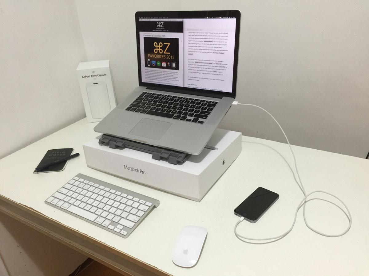 Zaid Syed's newer setup