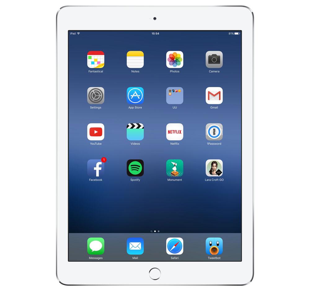 Jeroen Laven's iPad