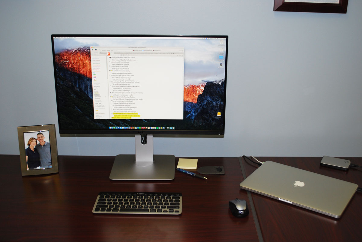 John Davis' Mac and iOS setup
