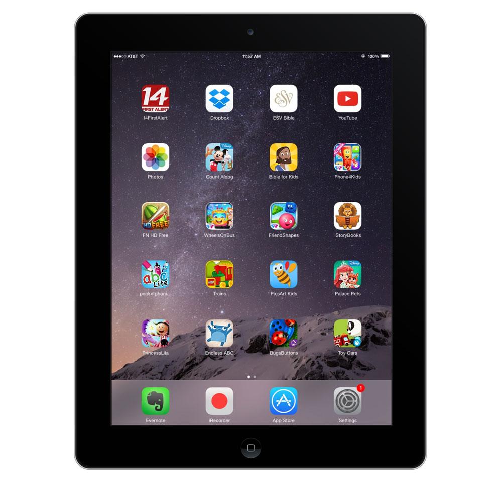 John Davis' iPad 2