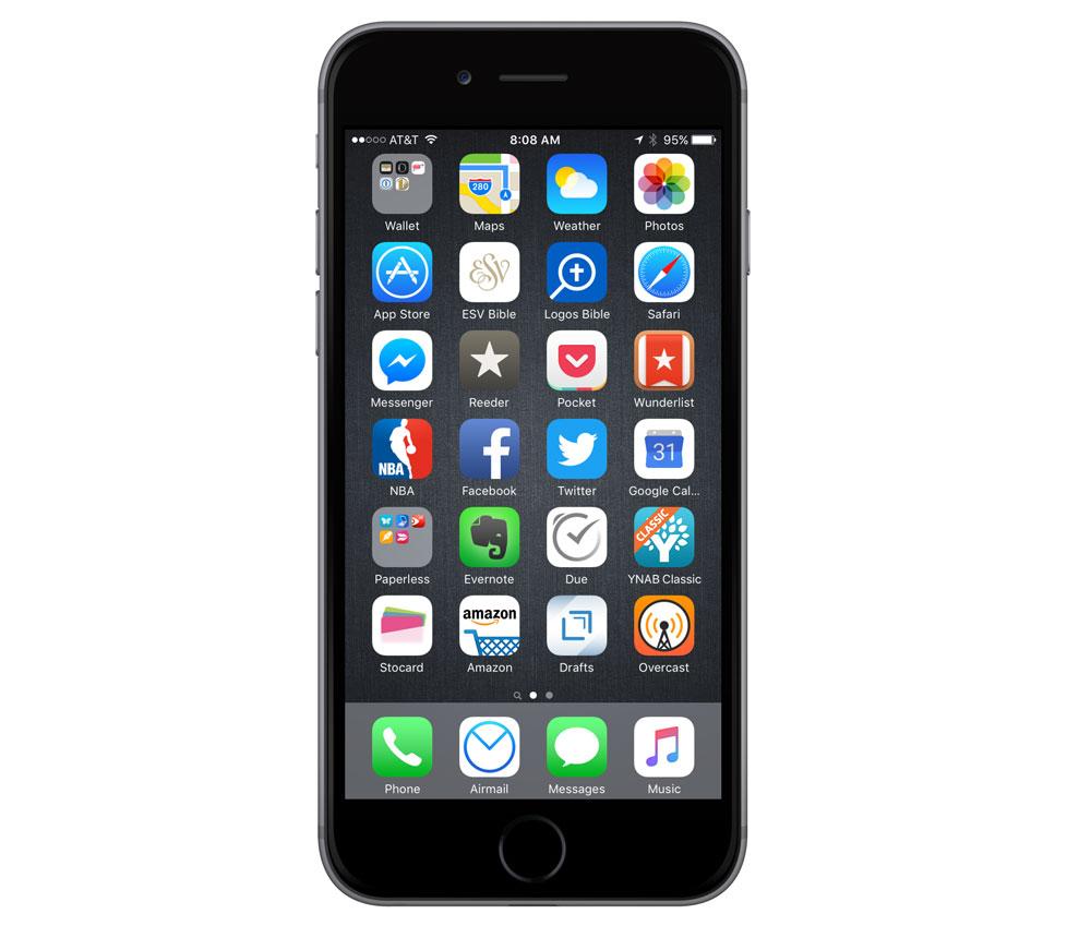 John Davis' iPhone 6