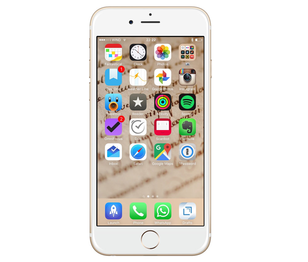 Tommaso Nervegna's iPhone 6