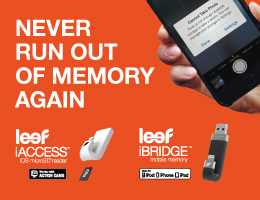 Always have enough storage for your moments with the Leef iBridge mobile memory! Never worry about deleting memories again.