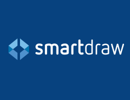 With over 1 million users world-wide, SmartDraw makes it easy to quickly create complex and powerful visuals.