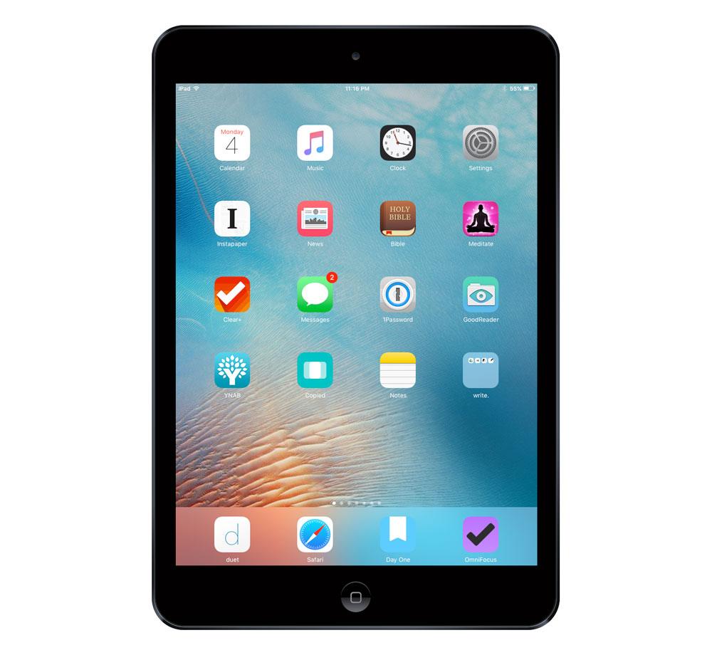 Steve Goslin's iPad