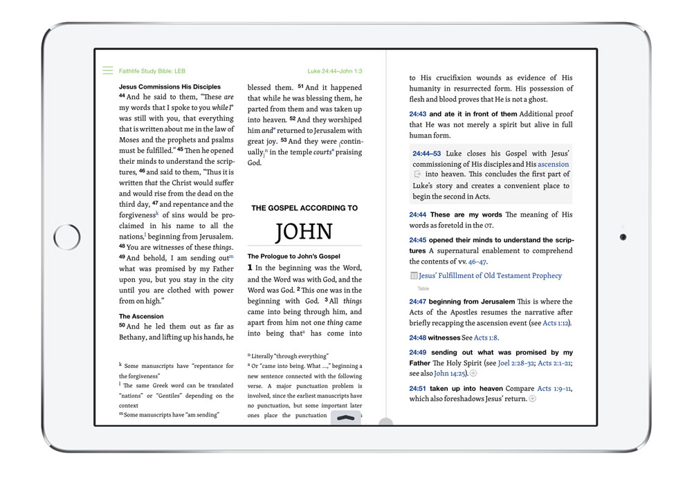 The Best Bible App for iPhone and iPad — The Sweet Setup
