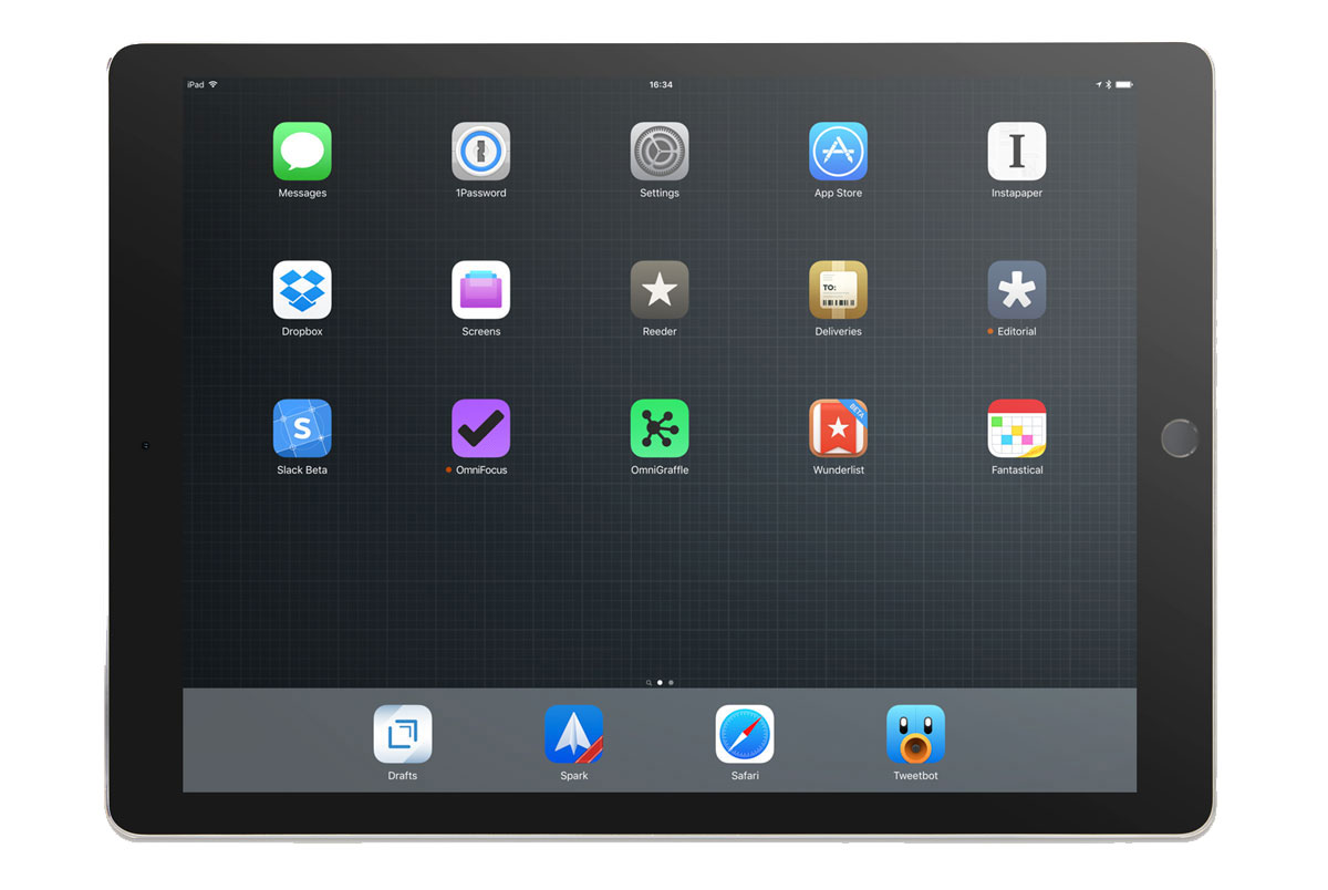 Nicholas Cole-Farrell's iPad
