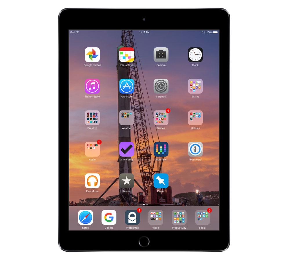 Sam Schmitt's iPad