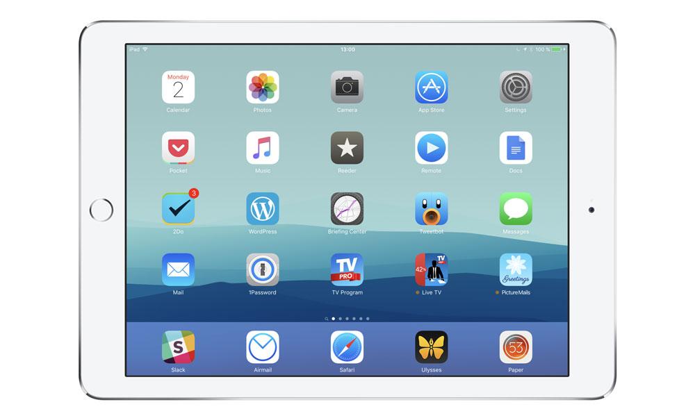 Adrian Thomas' iPad Pro