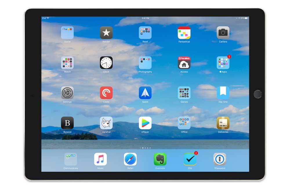 Brian Baggett's iPad