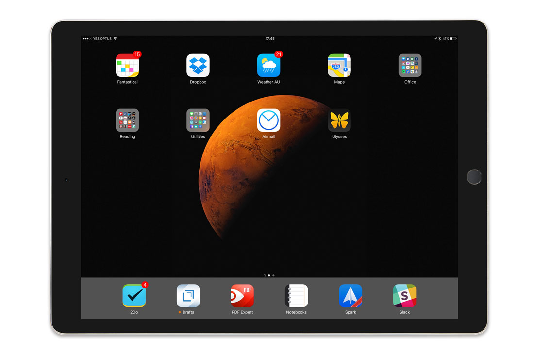 Paul Williams' iPad Pro