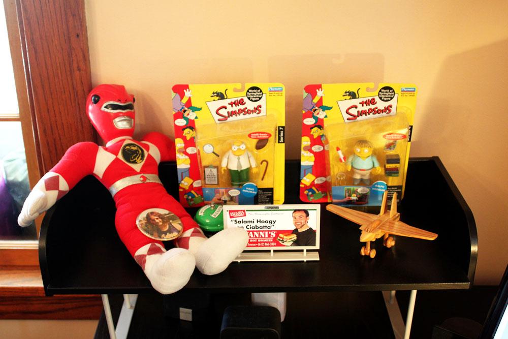 Tim Bornholdt's desk toys