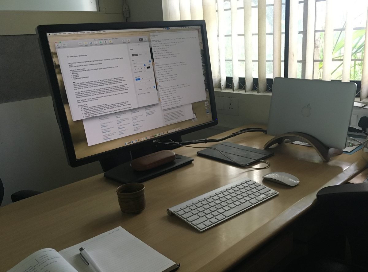 Aditya Ratnaparkhi's Mac and iOS setup