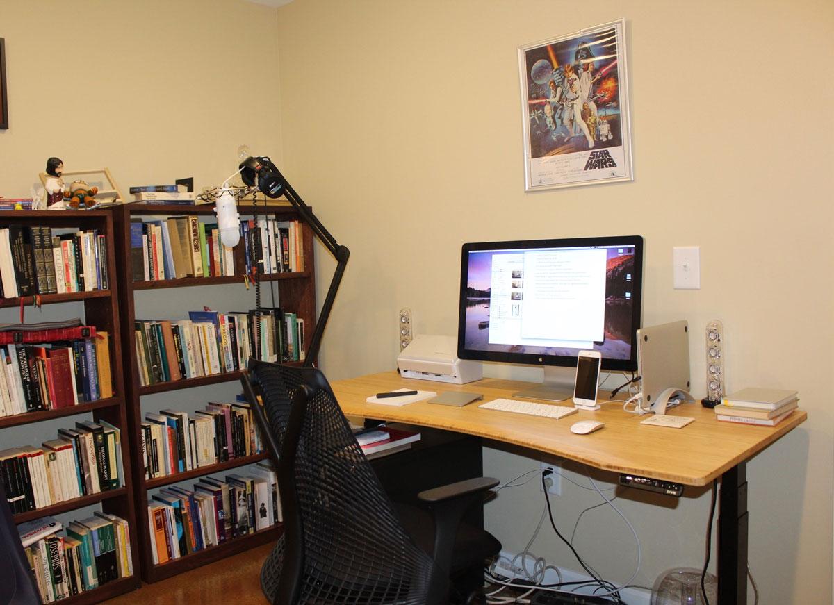 Kevin Taylor's desk