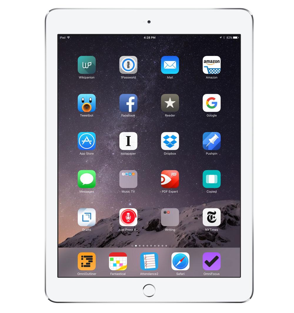 Kevin Taylor's iPad