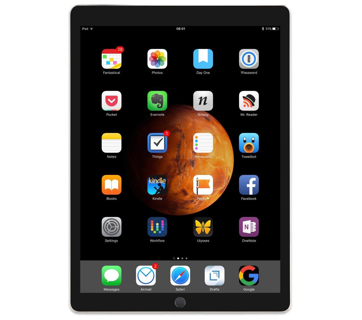 Gerry Hayes' iPad Pro