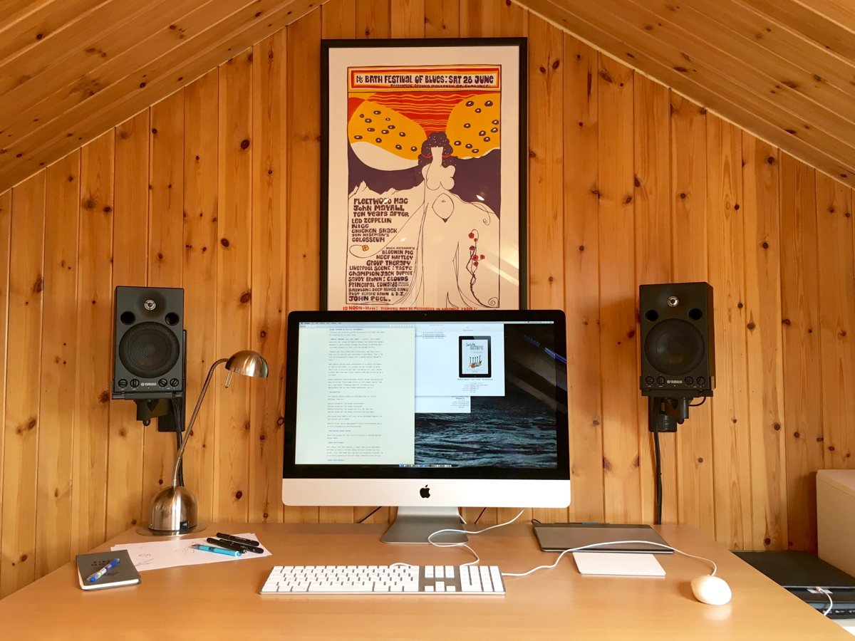 Gerry Hayes' Mac and iPad Pro setup