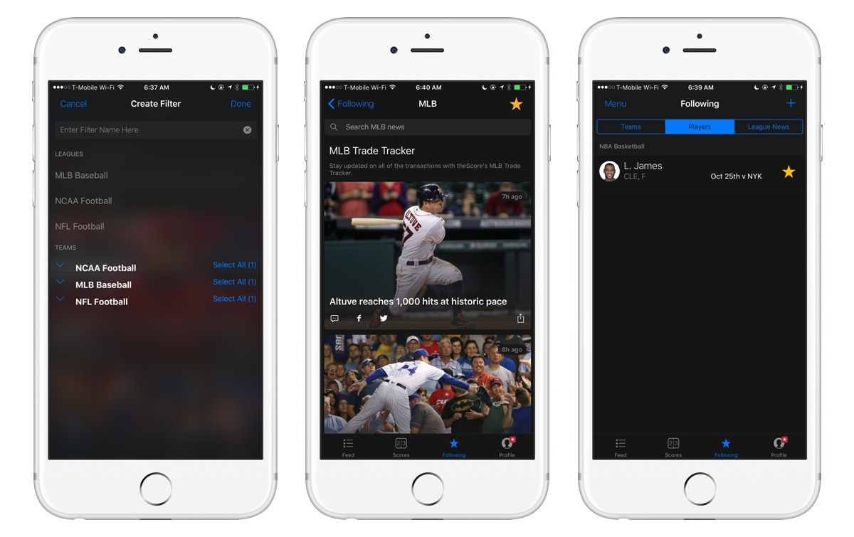 The best sports scores and news tracking app – The Sweet Setup