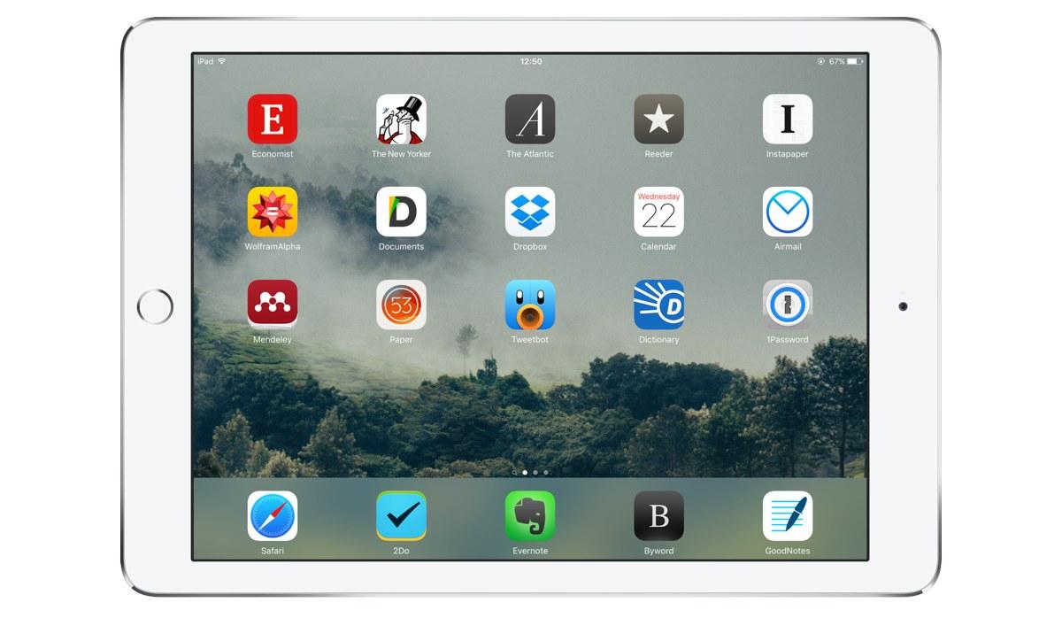 V.H. Belvadi's iPad