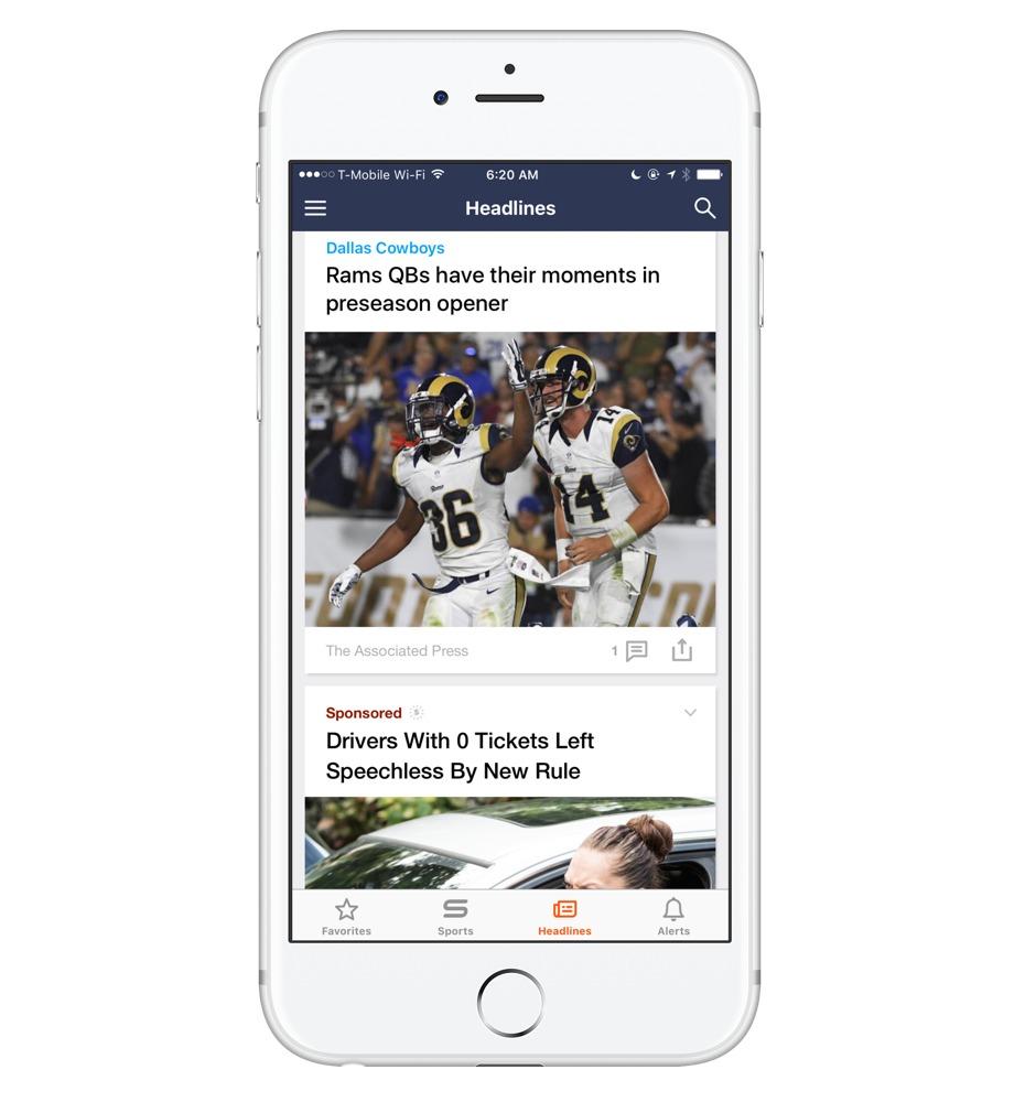 Yahoo Sports 5