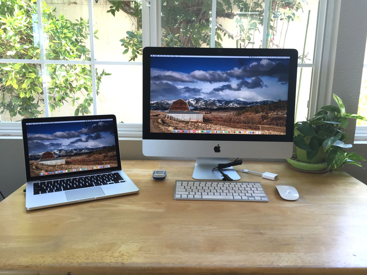 Loren Stephens' Mac and iPhone setup