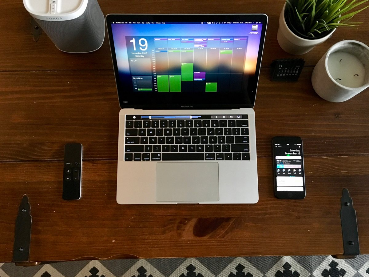 Jeffrey Shih's Mac and iPhone setup