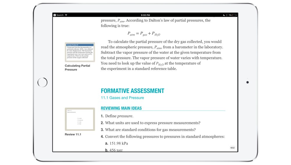 Textbooks in iBooks
