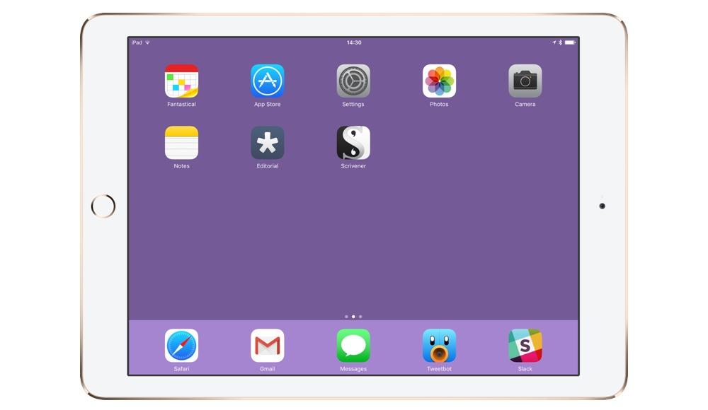 Matt Gemmell's iPad