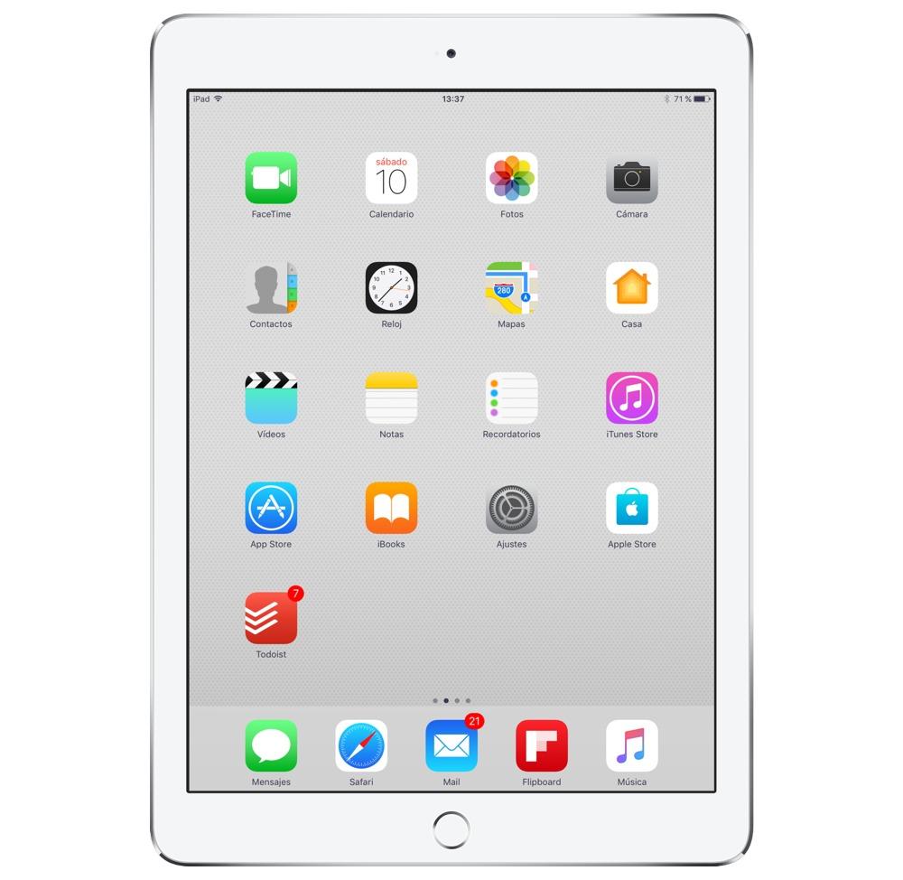 Jose's iPad