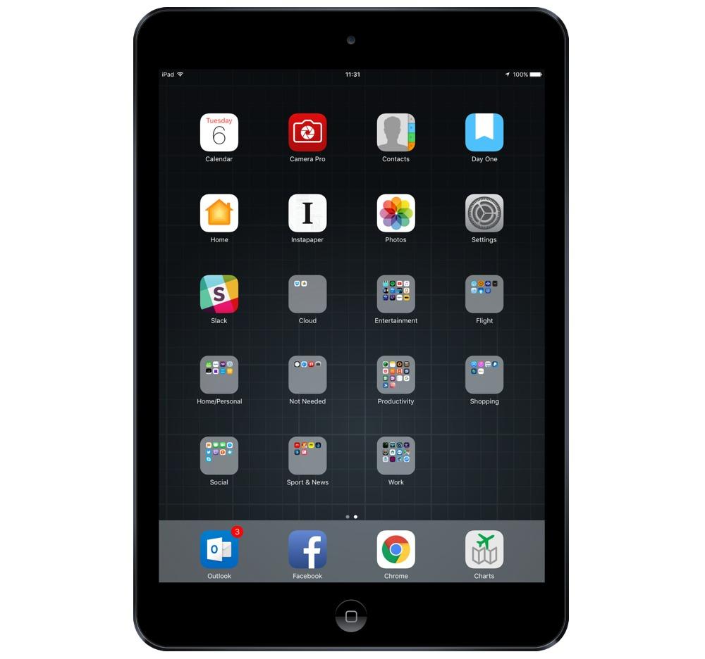 Mark Jordan's iPad