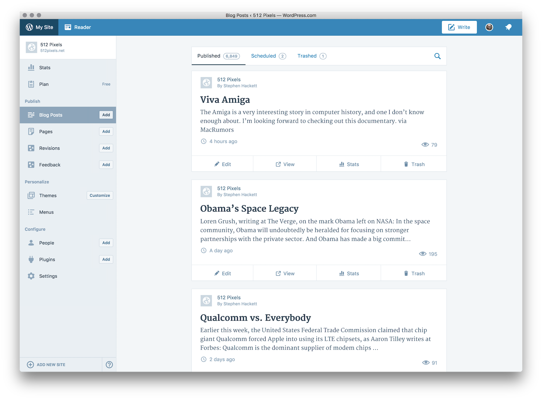 WordPress for Mac