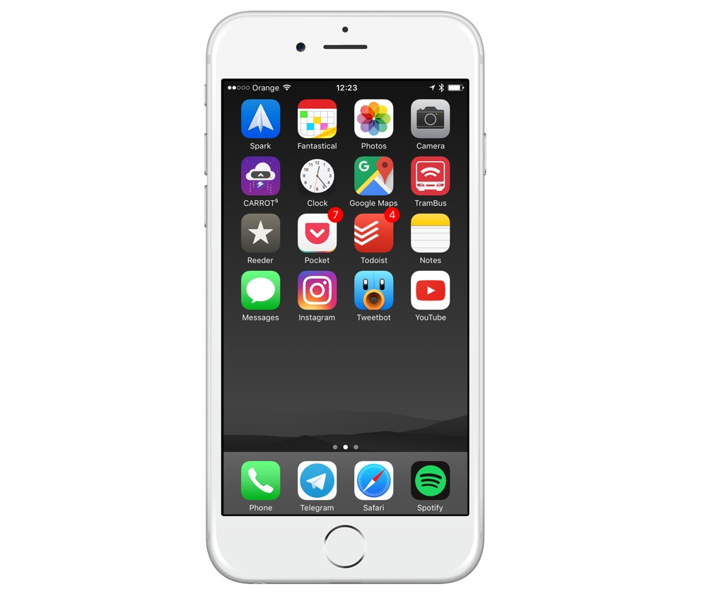 Daniel Marcinkowski's iPhone