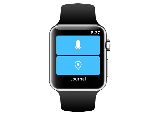 Day One watch app