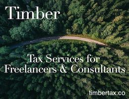 TimberTax.co provides web-based tax services for freelancers and consultants.