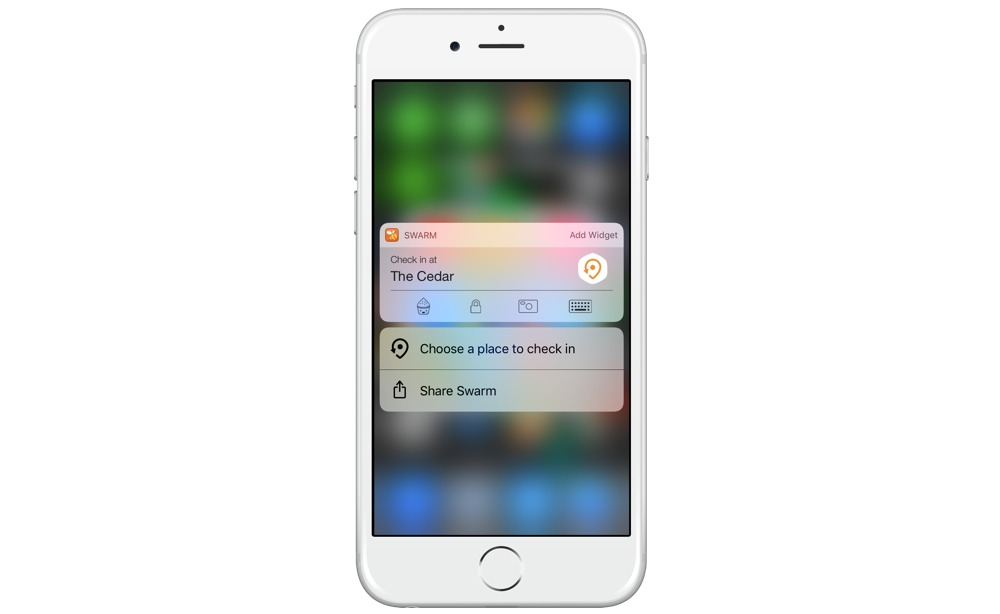 Swarm 3D Touch