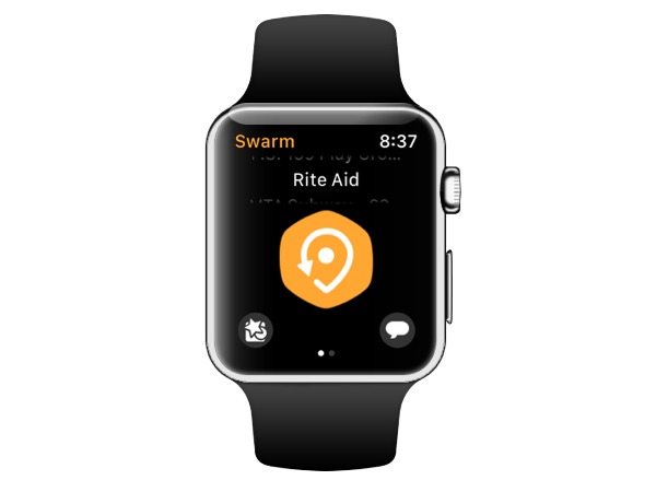 Swarm watch check-in