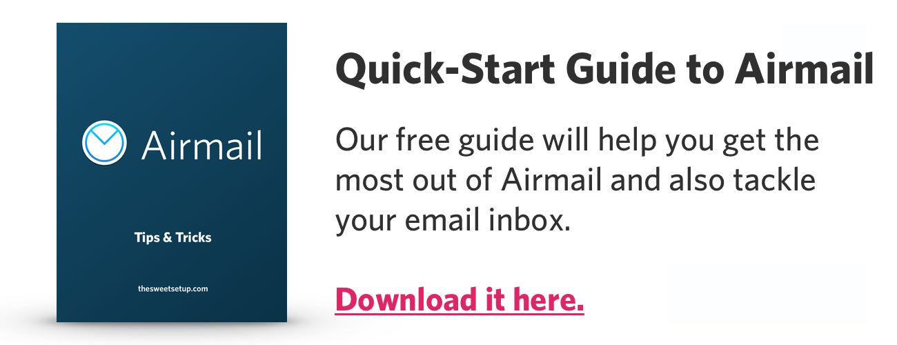 Airmail Quick Start Guide